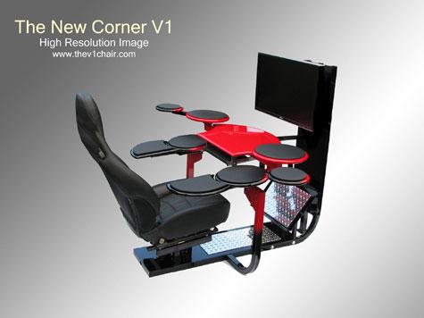 Corner V1 Computer Desk » image 2