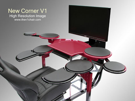 Corner V1 Computer Desk » image 4