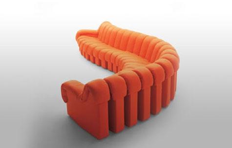 de Sede DS 600 Segment Sofa » image 3