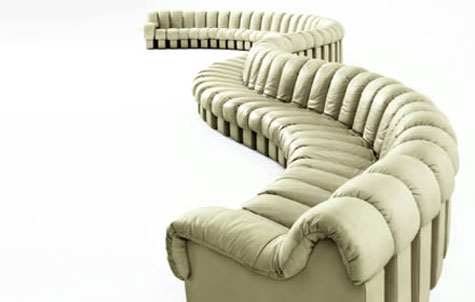 de Sede DS 600 Segment Sofa » image 4