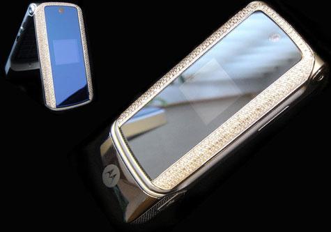 Platinum Motorola KRZR » image 1