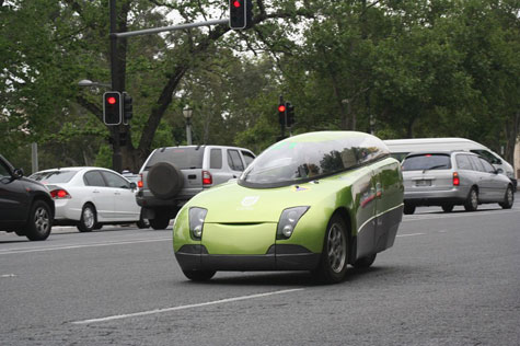 Trev Two Seater Renewable Energy Vehicle » image 2