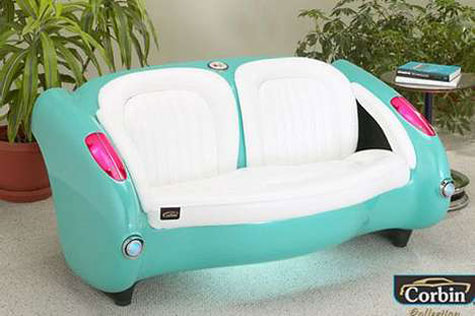 1957 Corvette Style Couch » image 2