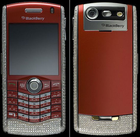 Amosu Blackberry Pearl Limited Diamond Edition » image 1