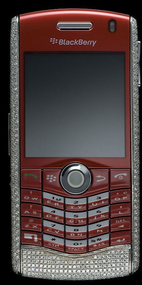 Amosu Blackberry Pearl Limited Diamond Edition » image 6