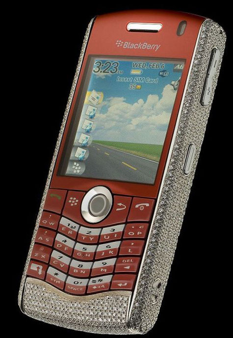 Amosu Blackberry Pearl Limited Diamond Edition » image 7