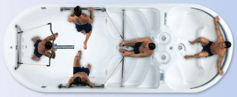 AquaFit 19 Dual Temp Hot Tub » image 2
