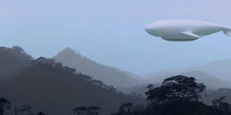 Manned Cloud: The flying hotel Thunderbird 2 Airship » image 4