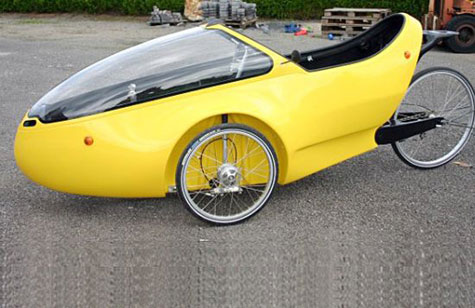 Go-One Human Powered Vehicle (HPV) » image 4