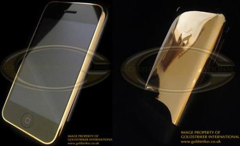 Goldstriker 24ct gold Apple iPhone 16GB » image 1
