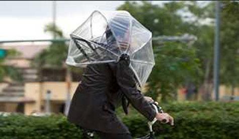 Nubrella: Hands Free Umbrella  » image 1