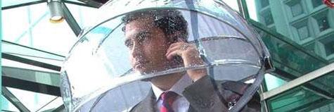 Nubrella: Hands Free Umbrella  » image 3
