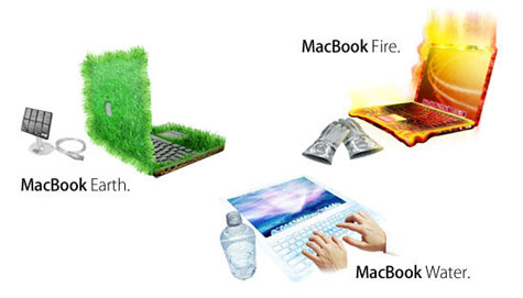 MacBook Earth, Water and Fire » image 1
