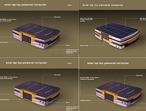 Solar Powered Notebook » image 1