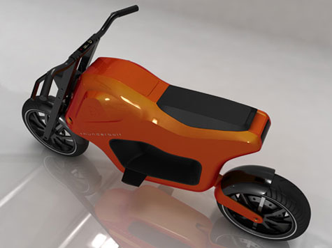 Thunderbolt Electric Scooter » image 3