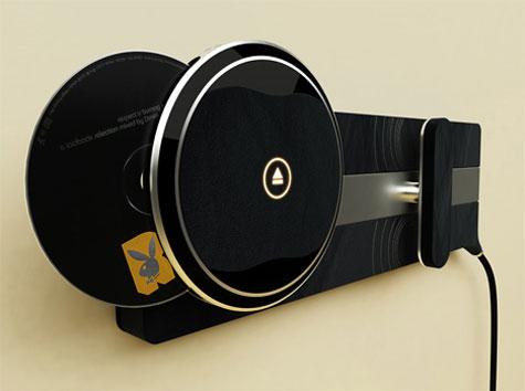 Pandora Alcantara Wall Mounted CD player » image 3