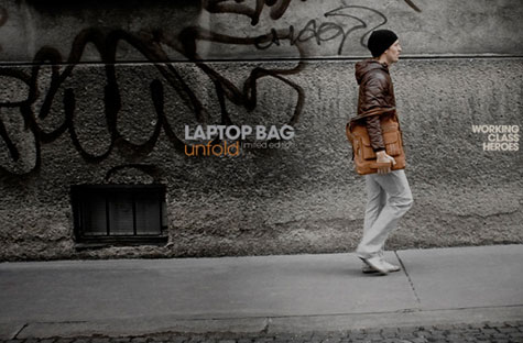 Working Class Heroes Laptop Bag Unfold » image 3