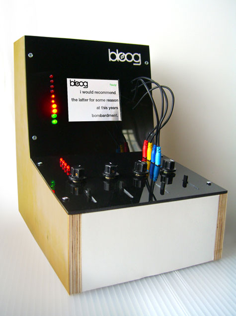 Bloog: The RSS Mod-Synth » image 1