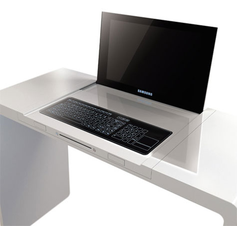 DesCom Desktop Laptop Desk » image 1