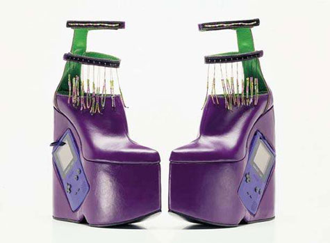 Gameboy Boots