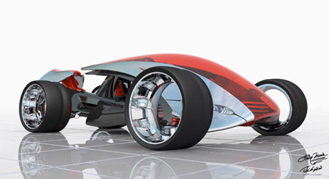 Nike ONE Concept Car » image 1