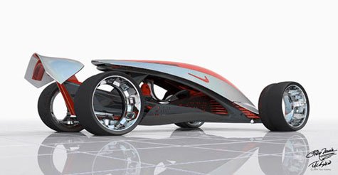 Nike ONE Concept Car » image 8