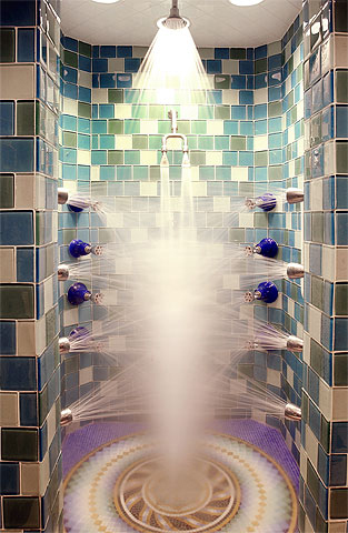 Silver TAG Shower » image 1