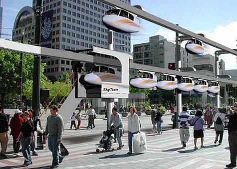 SkyTran Individual Maglev System » image 1