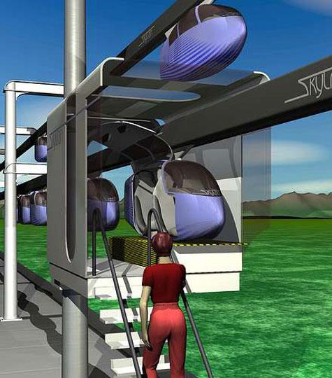 SkyTran Individual Maglev System » image 5