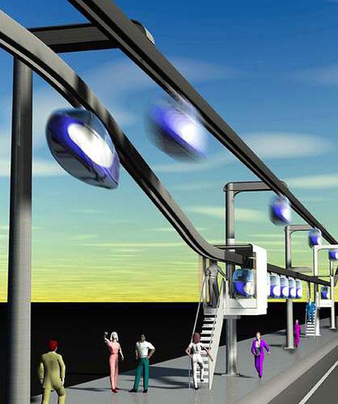 SkyTran Individual Maglev System » image 6