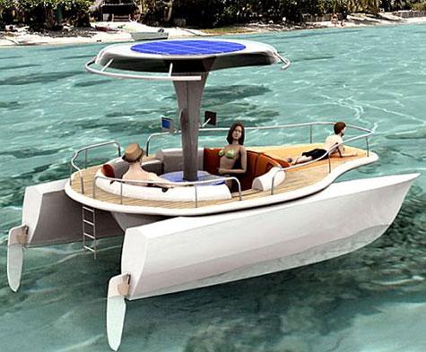 Solar Pedal Boat by Jonathan Mahieddine » image 1