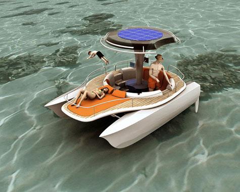 Solar Pedal Boat by Jonathan Mahieddine » image 2