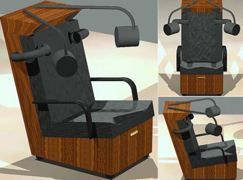 D+S Surround Sound Chair » image 2