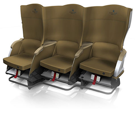 Delta Cozy Suite Airplane Seats » image 1