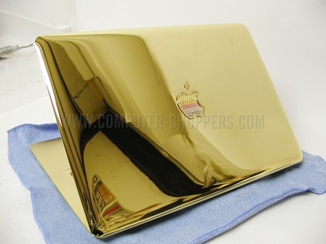 Gold Apple MacBook Air » image 1