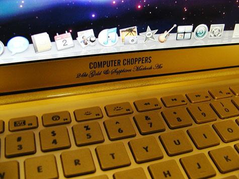 Gold Apple MacBook Air » image 2