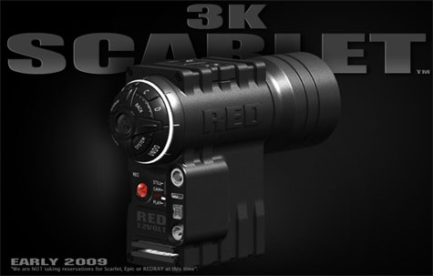 Reds Scarlet 3K Hero Camera » image 1
