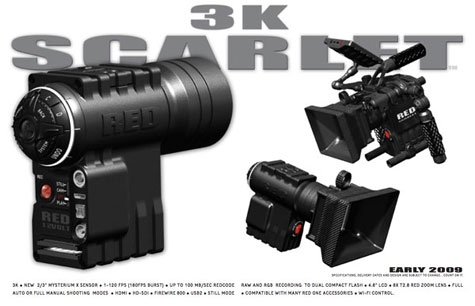 Reds Scarlet 3K Hero Camera » image 2