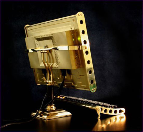 Steampunk LCD Computer Mod » image 2
