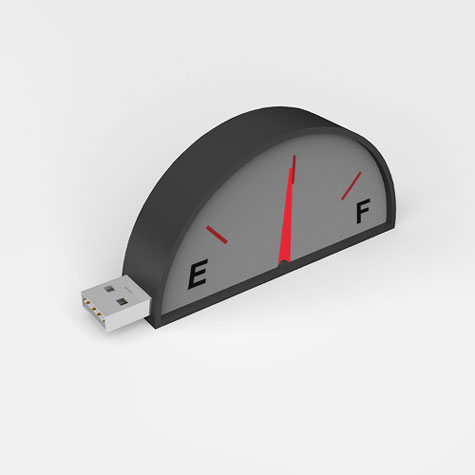 USB Displays Flash Memory Storage » image 1