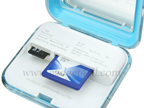 Compact Mirror and USB Card Reader  » image 2