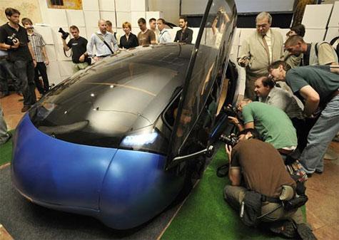 Antro Solo Solar Hybrid Car » image 1