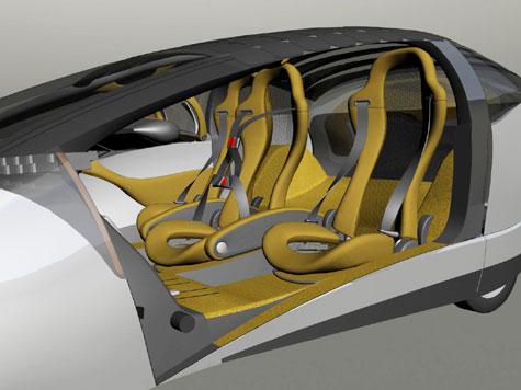 Antro Solo Solar Hybrid Car » image 8