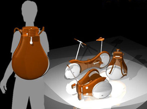 Backpack Bicycle Concept » image 1