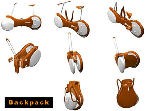 Backpack Bicycle Concept » image 2