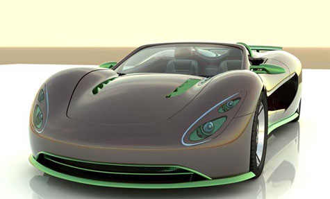 The Scorpion Eco-Exotic Car » image 1