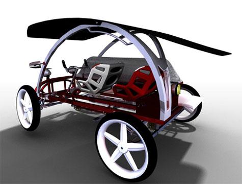Jaambaaro pedal car » image 3