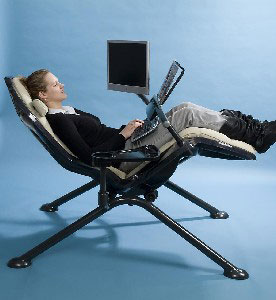Zero-Gee Ergonomic Computer/Gaming Workstation  » image 2