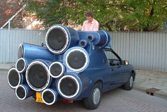 The Artistic DJ Car » image 1