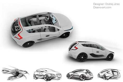 Audi O Car Concept » image 3
